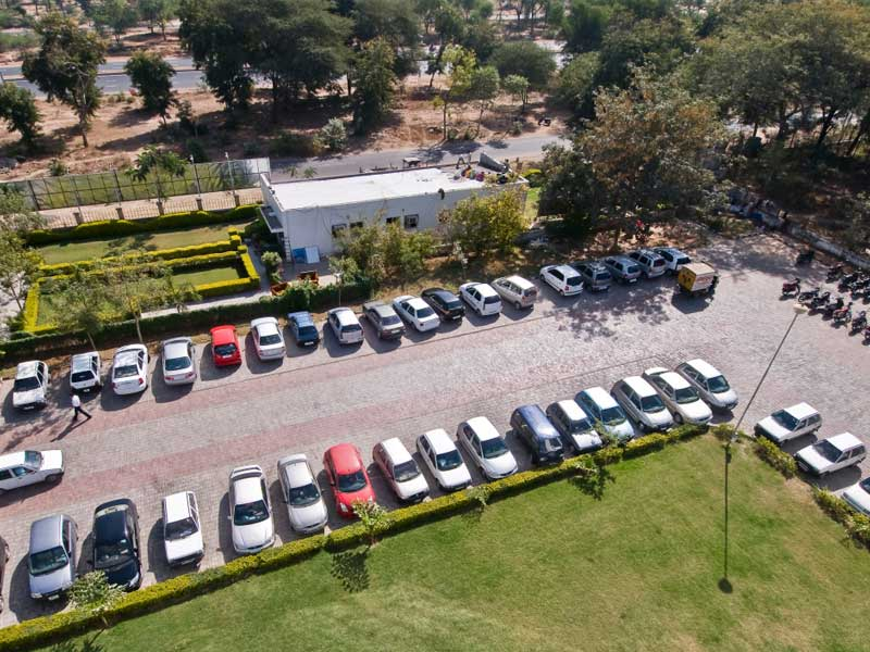 parking-Infocity-it-park-campaus-gandhinagar